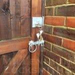 Gate Lock - Installed